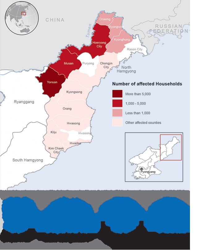 Flooding: Humanitarian Snapshot (5 September 2016)