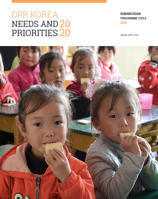 DPR Korea Needs and Priorities Plan 2020 (Issued April 2020)