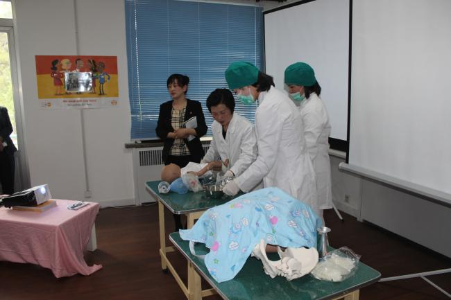 International Day of the Midwife, 5 May, 2016 in Pyongyang